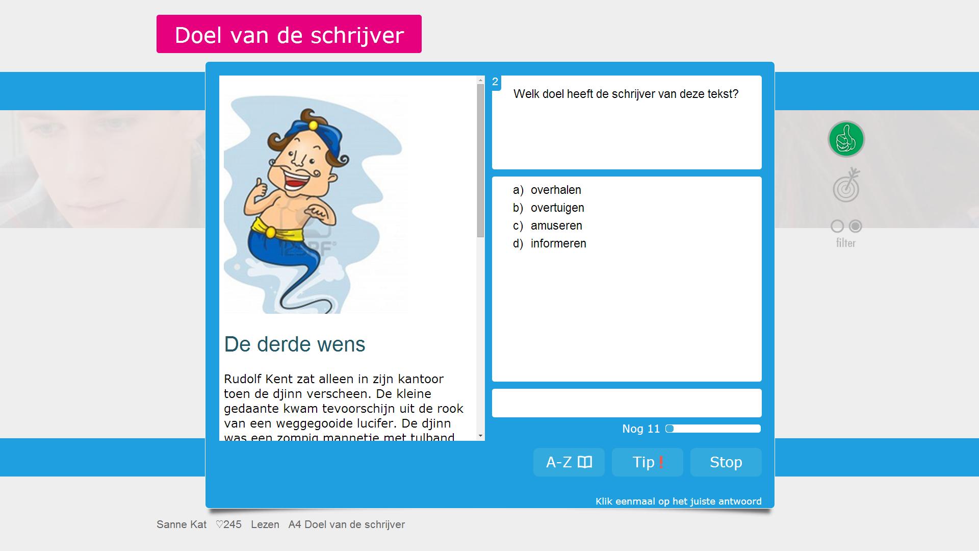 oefenen luistertoets 3f nederlands