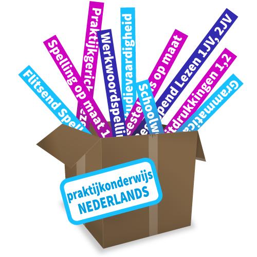 Totaalpakket Nederlands voor het praktijkonderwijs